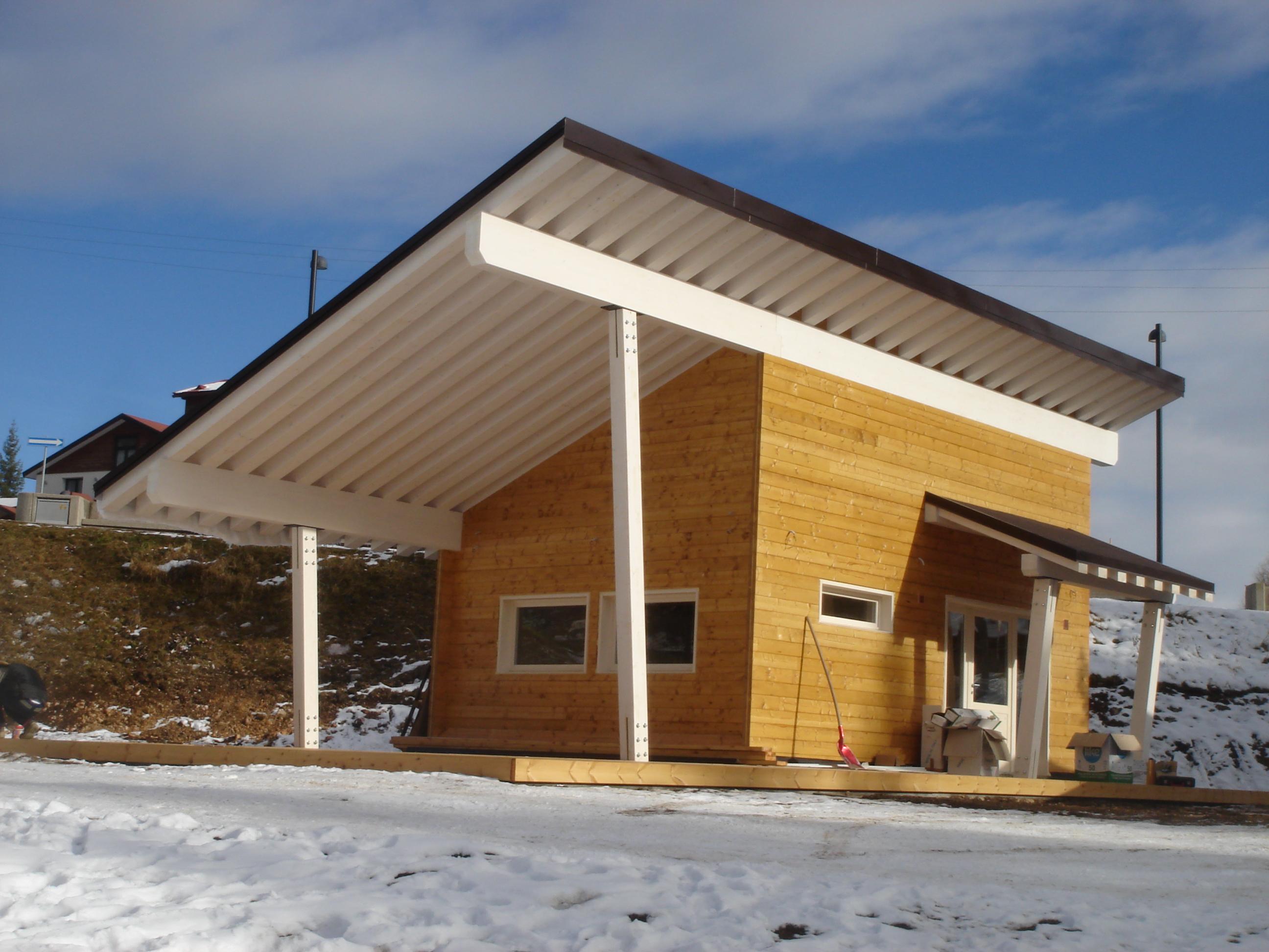 Bungalow in legno - Case abitabili in legno - Edil Legno