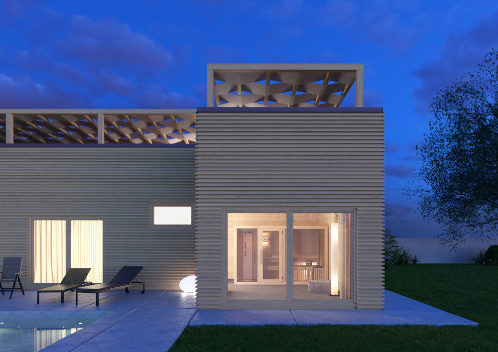 Progetti Esterni Villette : Case moderne progetti trendy ville moderne progetti conosciuto
