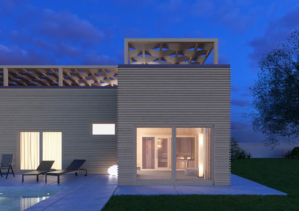Bungalow in legno case abitabili in legno edil legno - Ingressi case moderne ...