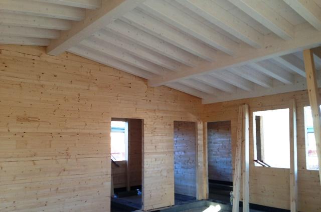 Bungalow in legno case abitabili in legno edil legno - Montare telaio porta ...