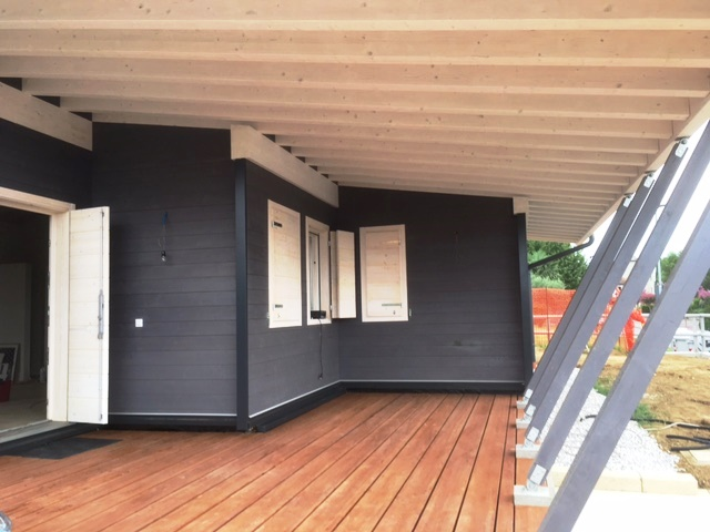 Case a basso costo di costruzione foto villa singola in - Costo costruzione casa in legno ...