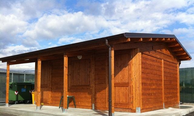 Casette da giardino in legno su misura edil legno - Bagni per uffici ...