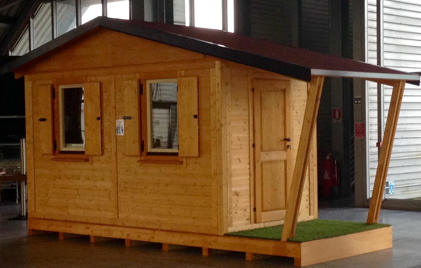 Casette in legno prefabbricate casette da giardino for Piccoli piani cabina con soppalco e veranda
