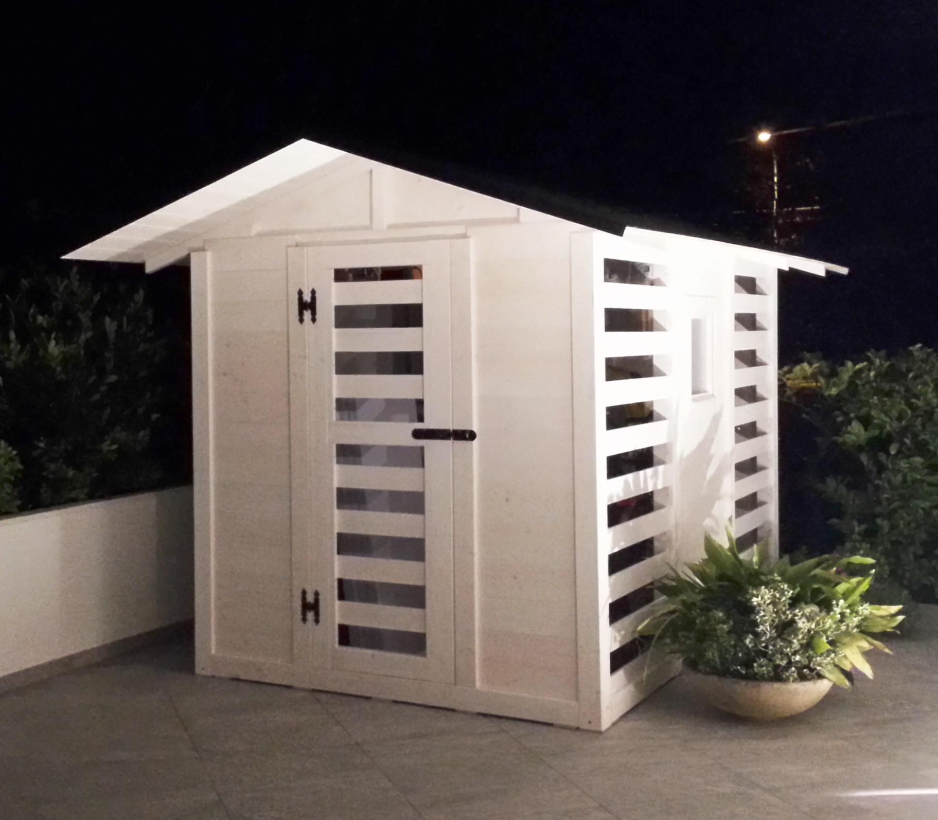 Casette da giardino in legno su misura edil legno for Case vittoriane su misura