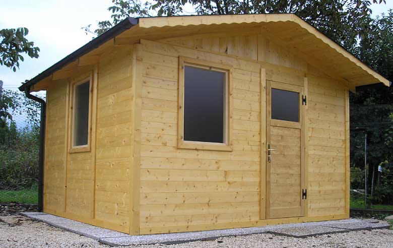 Casette in legno casette da giardino for Finestre di legno