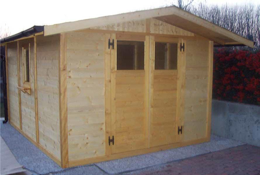Ecco alcuni esempi delle casette in legno che potete ordinare con il