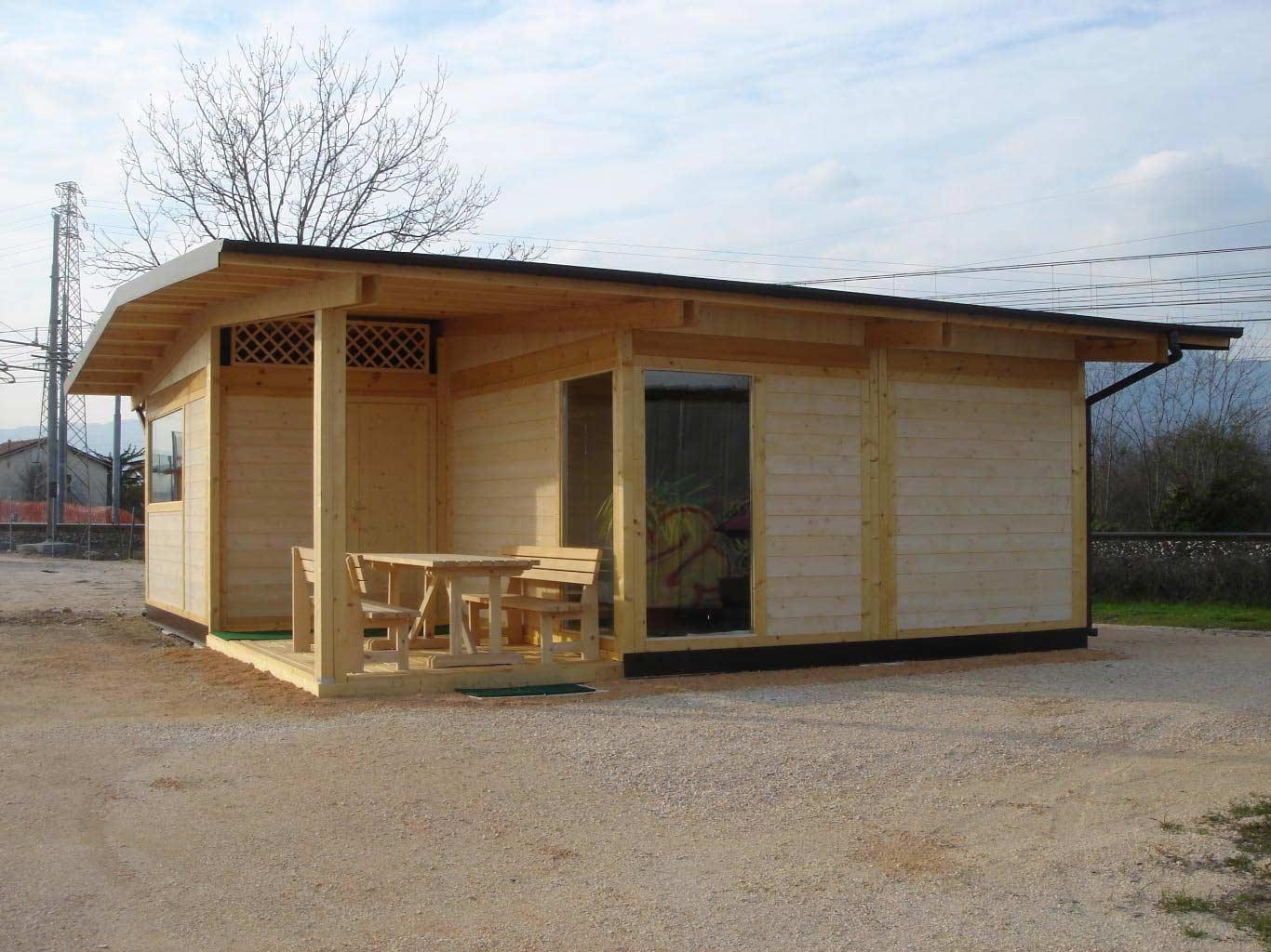 Case prefabbricate for Casa in legno prefabbricata