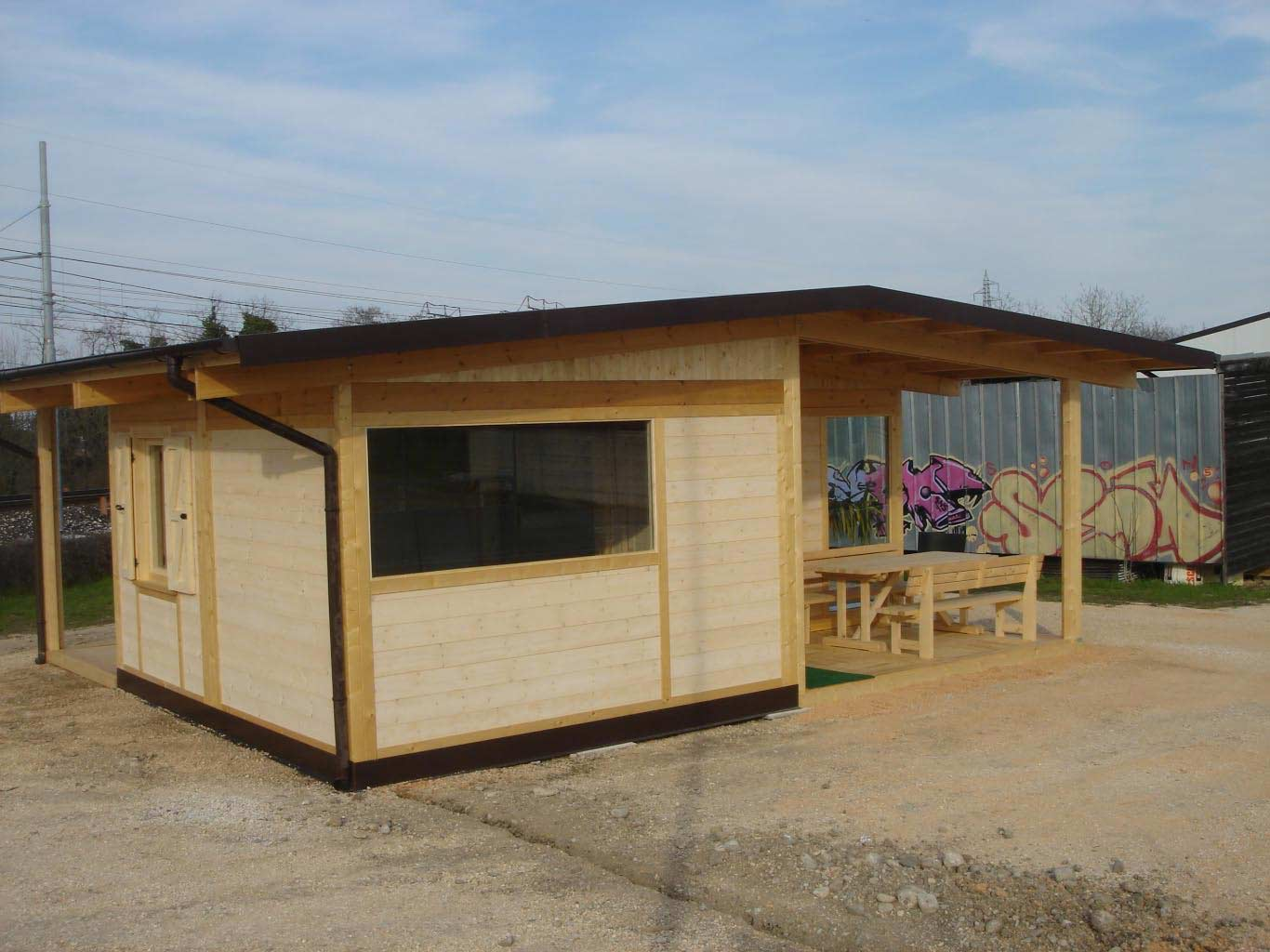 Case in legno for Casa in legno prefabbricata