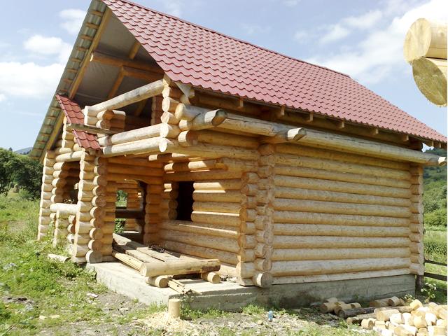 Bungalow in legno case abitabili in legno edil legno for Case di tronchi di blocchi di legno