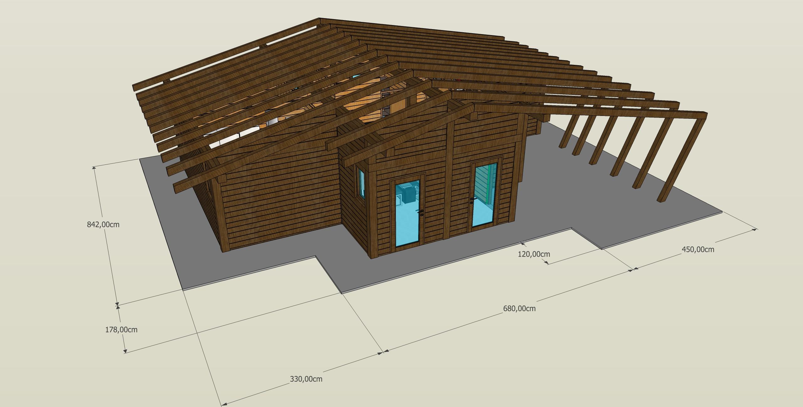 Bungalow in legno case abitabili in legno edil legno for Una storia di case in legno