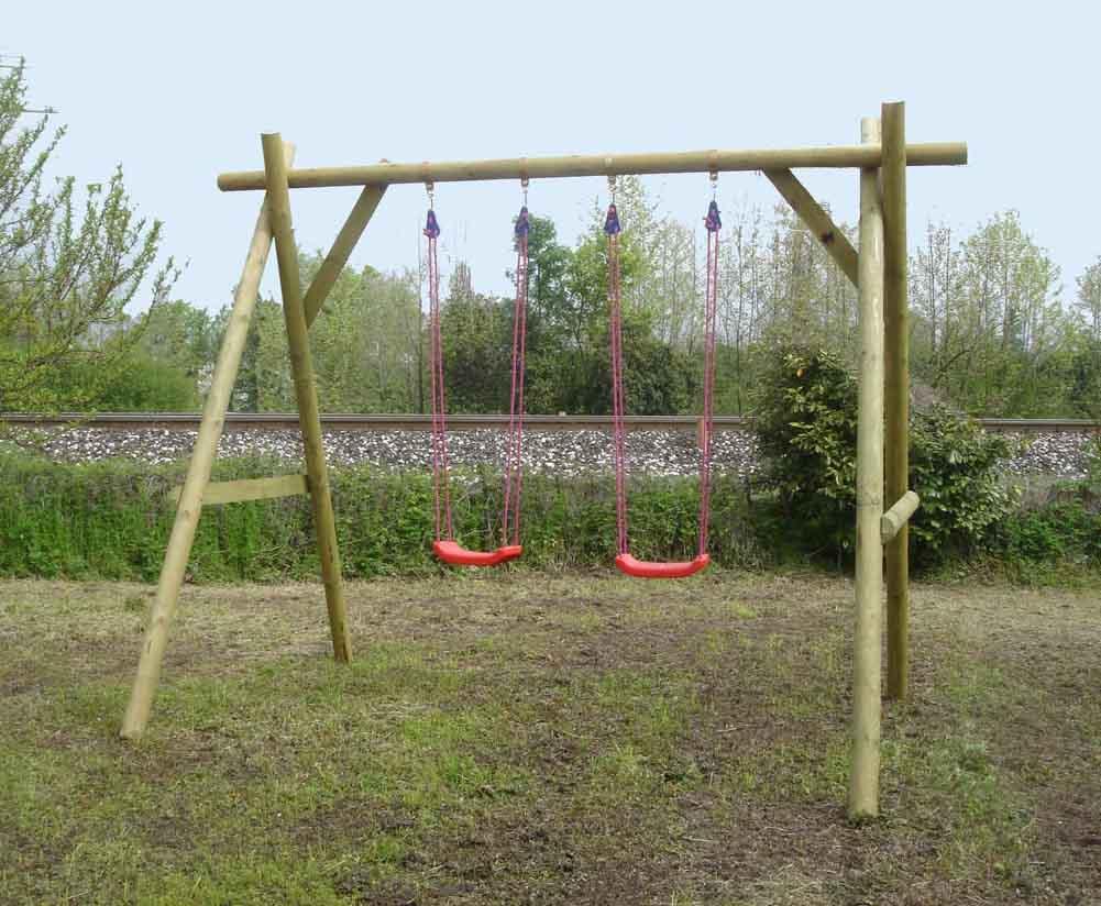 Giochi ed articoli vari in legno e su misura for Altalena legno usata