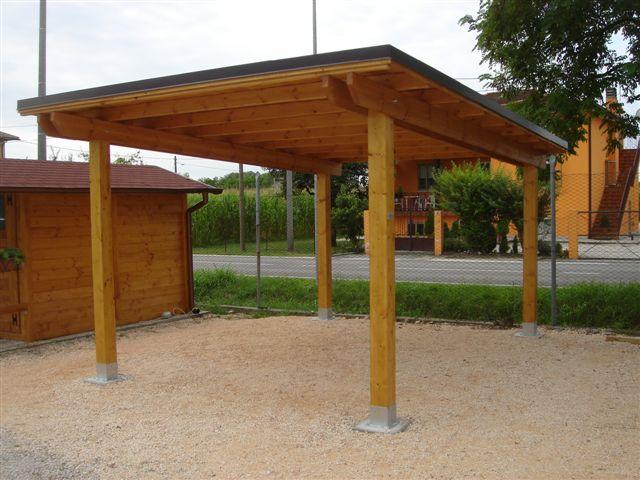 Casa moderna roma italy carport in legno prezzi for 10 piani di garage per auto