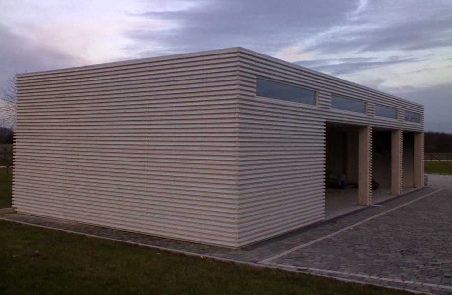 Prefab Garage With Studio