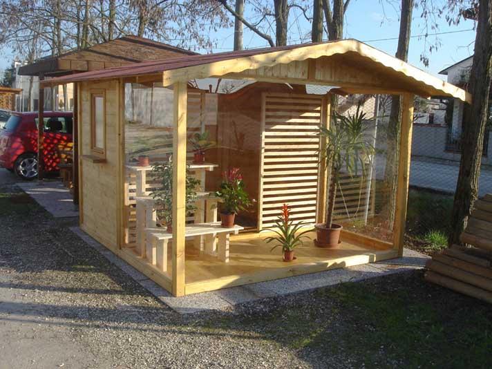 Casette da giardino in legno su misura edil legno for Modelli di case piccole