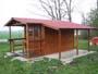 casetta 2.5x3 con tettoia e veranda