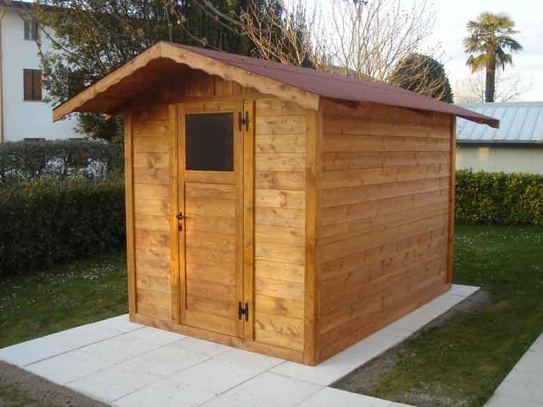 Casette da giardino in legno su misura edil legno - Casette in legno per giardino ...