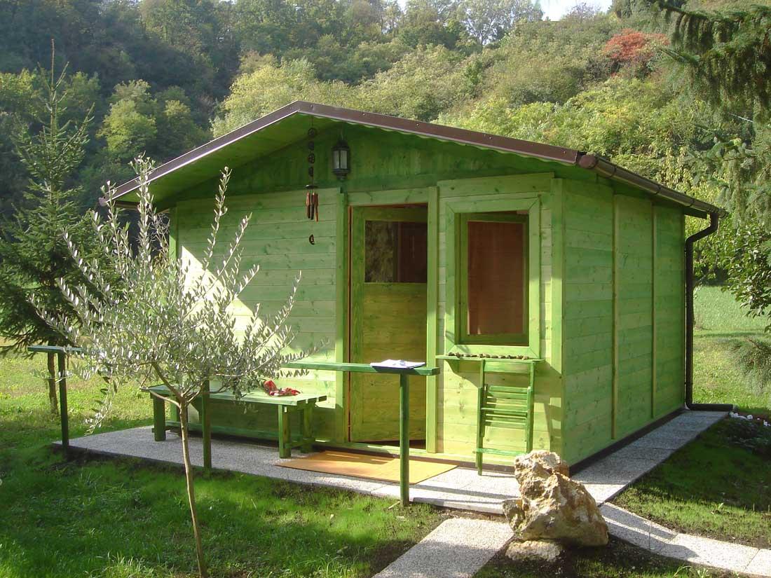 Casette da giardino in legno su misura edil legno - Case in legno mobili ...