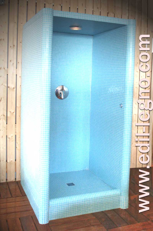 cabina doccia, by Edil Legno
