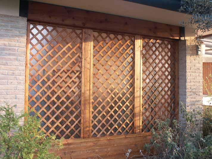 Modelli recinti in legno