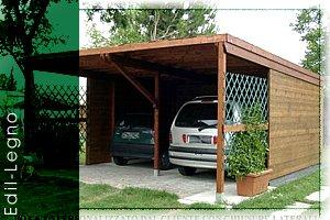 Prezzi gazebo in legno per auto