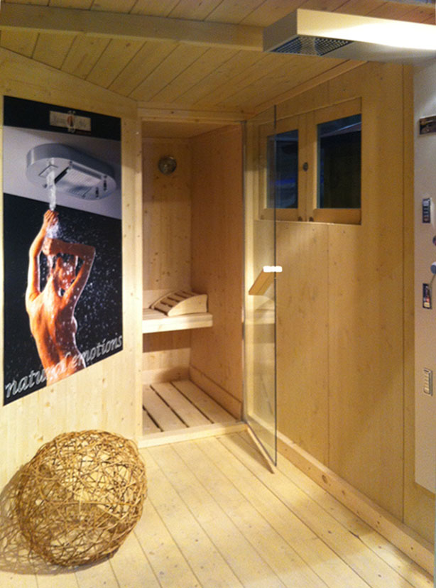 Excellent good costo sauna in casa with costo sauna in - Costo sauna per casa ...