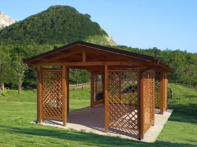 Modelli gazebo in legno - Antitarlo leroy merlin ...