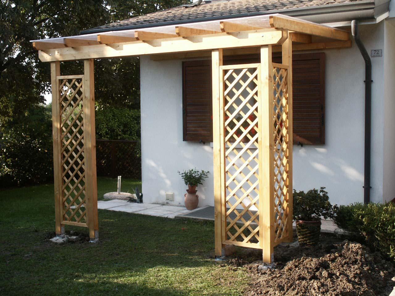 Come fare una copertura in legno elegant cu ventilcork di - Sughero pianta da giardino ...