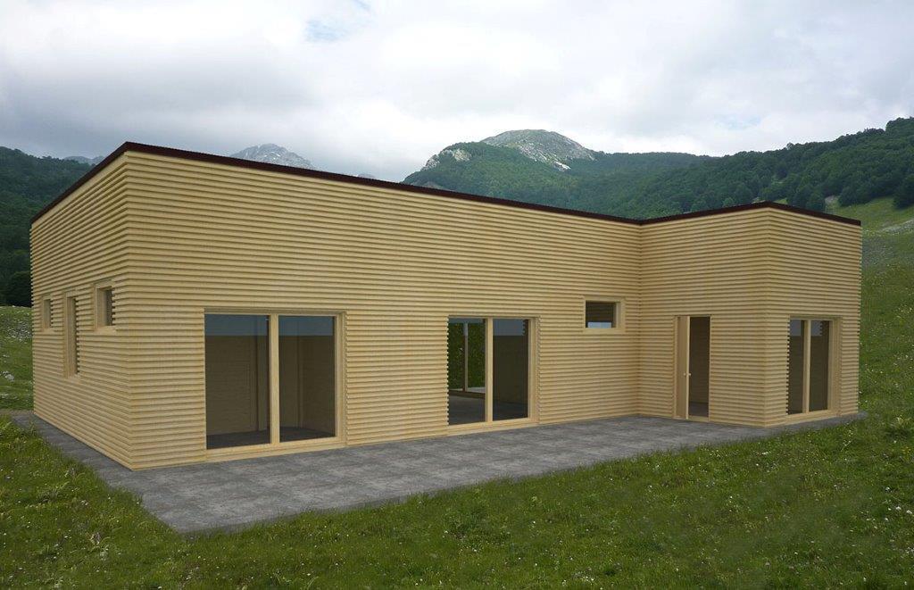 Case in legno prefabbricate green build italia srl for Case in legno italia