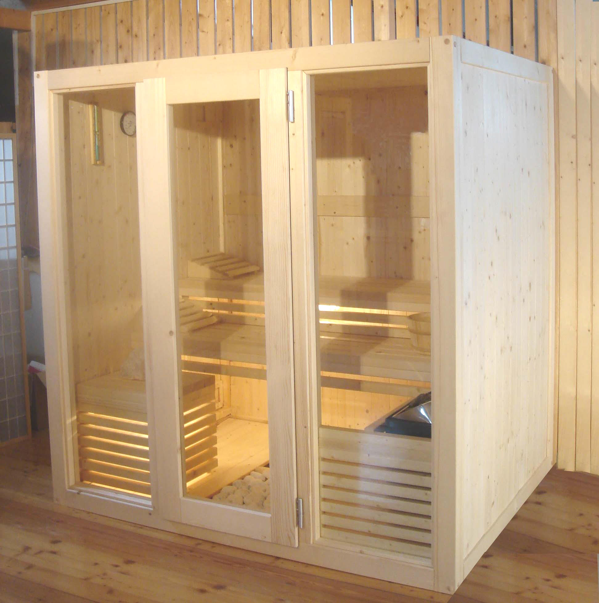 Sauna in casa stunning gallery of modelli sauna for Sauna in casa