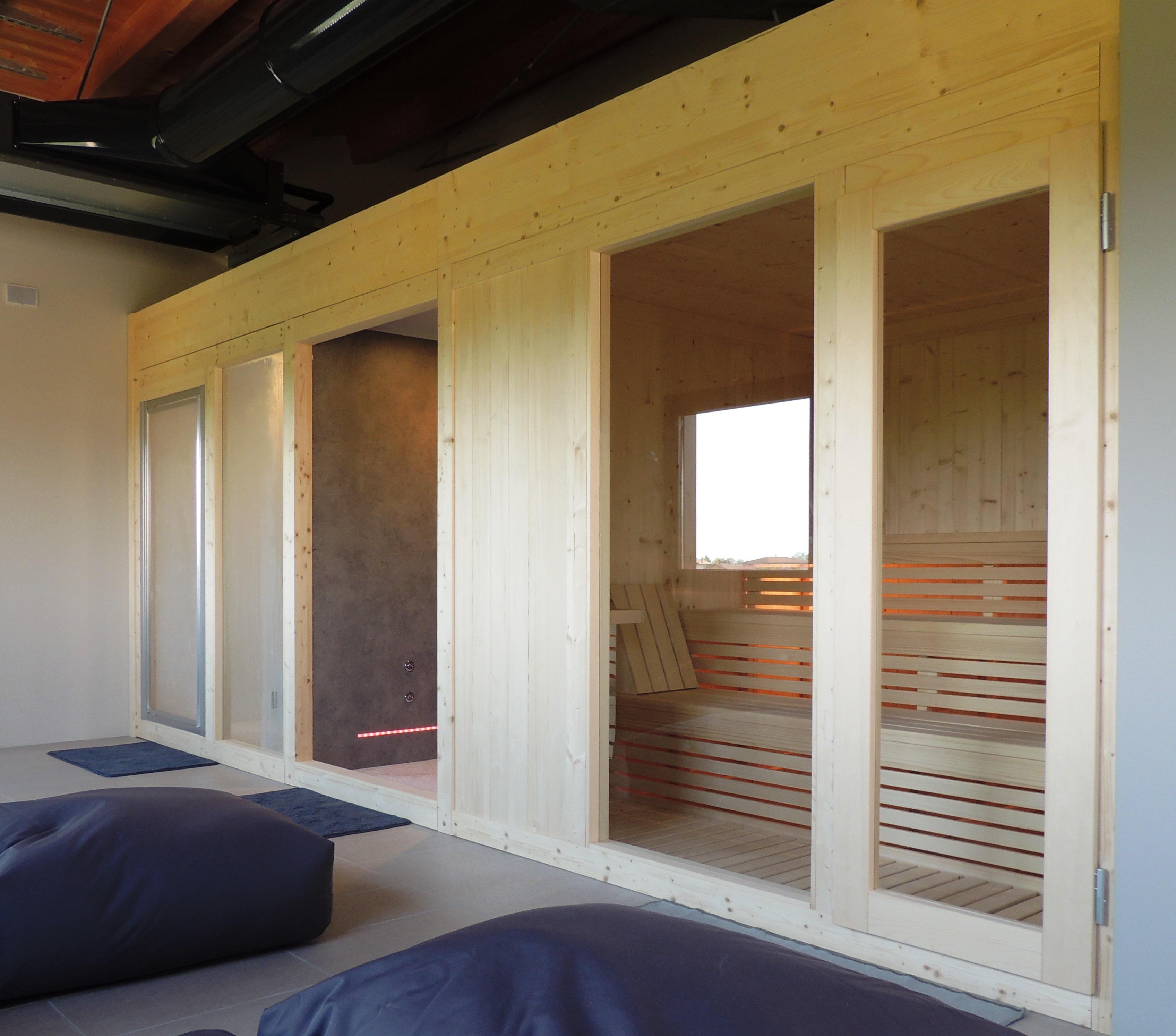 Doccia Bagno Turco Su Misura.Modelli Sauna Finlandese E Sauna Con Bagno Turco Hammam In