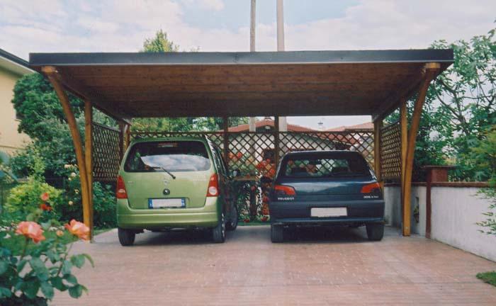 Modelli Box Auto In Legno