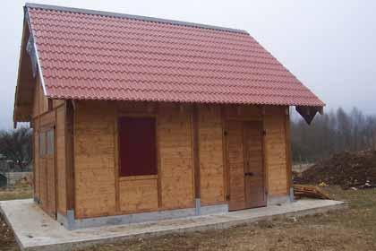 Casette da giardino in legno su misura edil legno for Piani di casa bungalow 2 piani