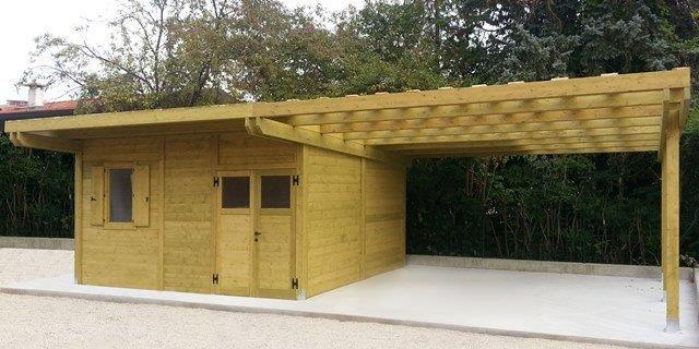 Casette da giardino in legno su misura - Edil Legno