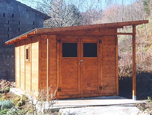 Edil legno for Costruire un garage su un terreno in pendenza