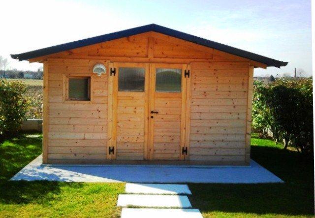 Casetta di legno da giardino usata idea di casa for Casetta giardino usata