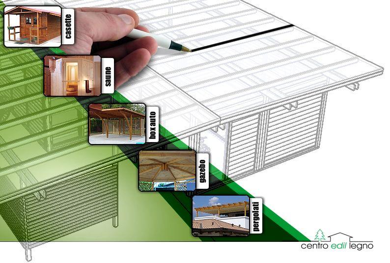 Vendita case casette in legno costruzioni in legno for Disegni di addizione garage