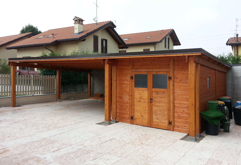 Modelli box auto in legno for Piccoli piani casa moderna casetta