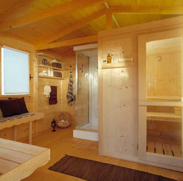 Casa benessere for Offerte case in legno abitabili