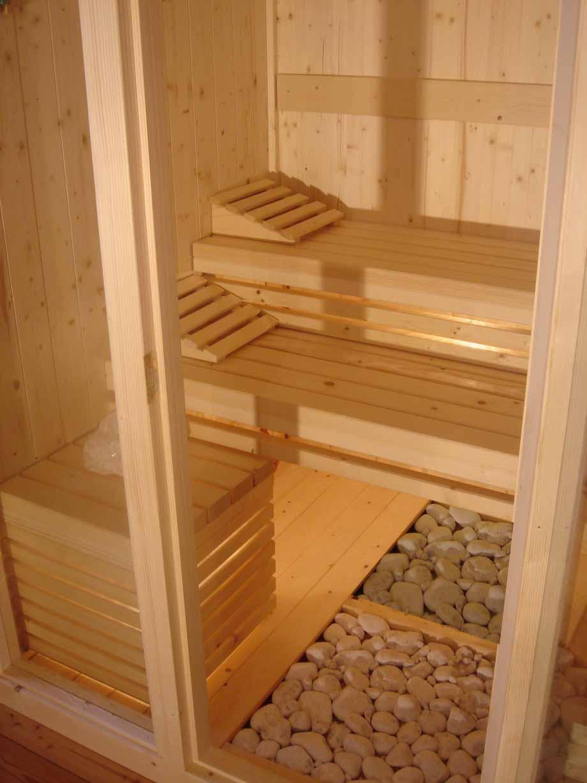 Modelli Sauna Finlandese E Sauna Con Bagno Turco Hammam In