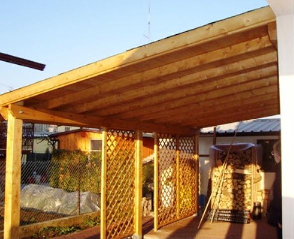 Tettoie in legno lamellare dwg profilati alluminio for Progetto casa in legno dwg