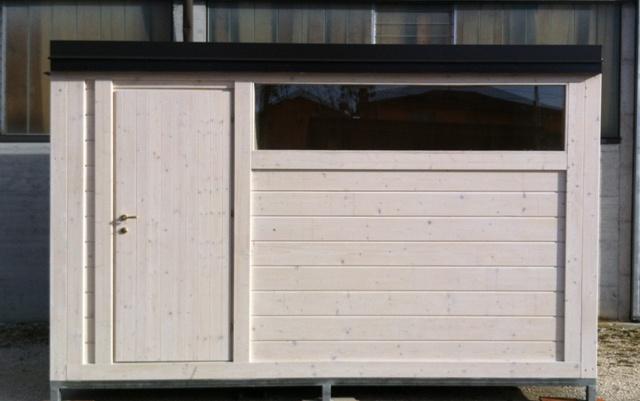 casette da giardino in legno su misura - edil legno - Mobili Da Giardino In Plastica Moderno