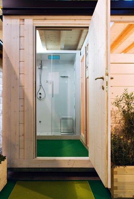 Bagni in legno per esterni idee creative di interni e mobili - Bagni esterni in legno ...