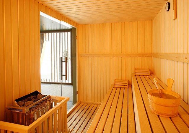 Casetta Da Giardino In Legno Usata : Modelli sauna finlandese e con bagno turco hammam in