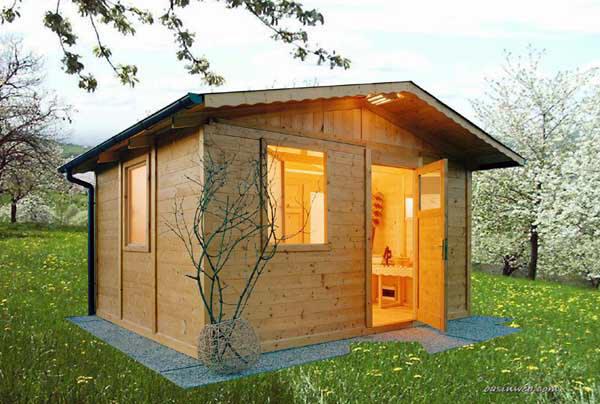 ... attrezzata per il benessere con sauna ed altri comfort, by Edil Legno